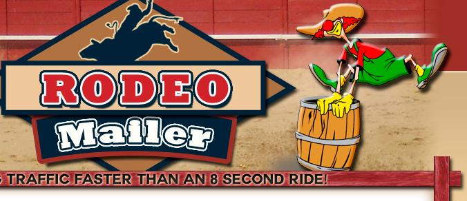 RodeoMailer Explodes Onto the Net ... ..